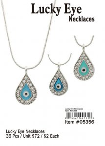 Lucky Eye Necklaces Wholesale