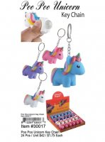 Poo Poo Unicorn Key Chain Wholesale