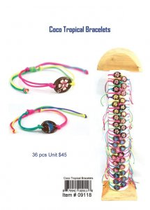 Coco Tropical Bracelets Wholesale