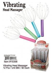Wholesale Vibrating Head Massager
