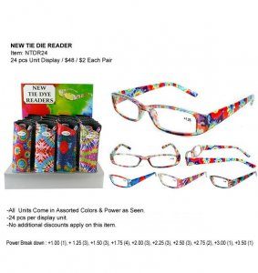 New Tie Die Readers Wholesale