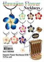 Wholesale Hawaiin Flower Necklaces