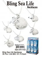 Bling Sealife Necklaces Wholesale