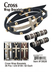 Cross Wrap Bracelets Wholesale