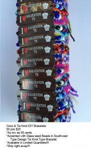 Galveston Coco Bracelets Wholesale