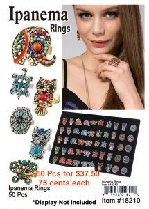 Ipanema Rings NOW ON CLEARANCE