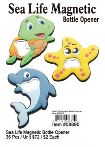 Sea Life Magnetic Bottle Opener Wholesale