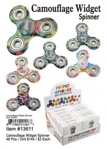 Camouflage Hand Spinners Wholesale