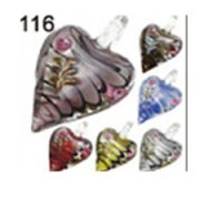 Wholesale Murano Glass Pendants #116 - BOXED