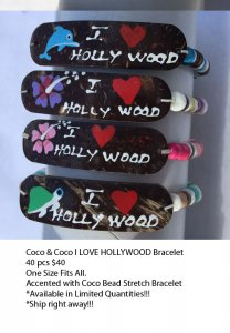 Hollywood Coco Bracelets Wholesale