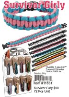 Survivor Girly Bracelets Wholesale