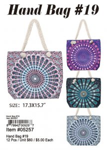 Hand Bag 19 wholesale 05257