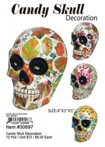 Candy Skull Decoration Wholesale