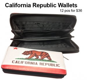 California Republic Wallets Wholesale