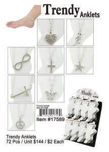 Trendy Anklets Wholesale