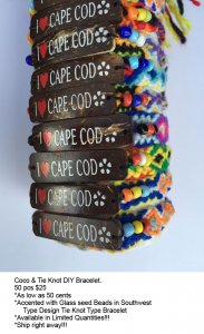 Cape Cod Coco Bracelets Wholesale