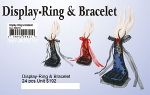 Display - Ring and Bracelets NOW ON CLEARANCE