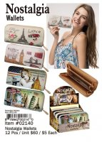 Nostalgia Wallets Wholesale