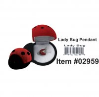 Cuties Lady Bug Pendant Wholesale