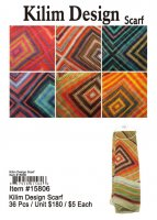 Kilim Design Scarves NOW ON CLEARANCE