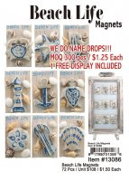 Beach Life Magnets Wholesale