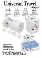 Universal Travel Adapters Wholesale