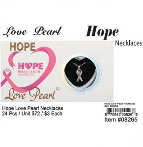 Love Pearl Hope NecklacesWholesale