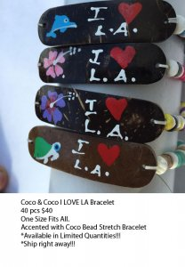 Los Angeles Coco Bracelets Wholesale