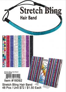 Wholesale Stretch Bling Hair Band