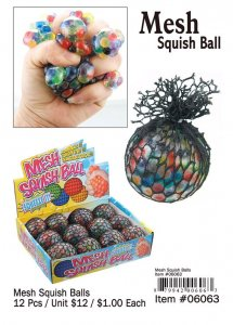 Mesh Squish Ball Wholesale