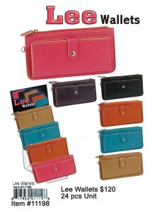 Wholesale Lee Wallets NOW ON CLEARANCE