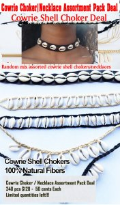 Chokers Cowrie Necklace Shell Choker Deal
