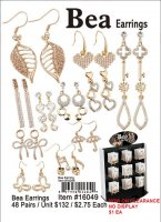Wholesale Bea Earrings NOW ON CLEARANCE