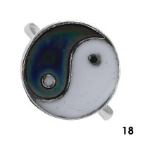 Wholesale Mood Rings - Style 18 - Ying Yang