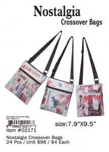 Nostalgia Crossover Bags Wholesale