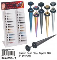 Illusion Fake Tapers NOW ON CLEARANCE