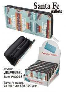Santa Fe Wallets Wholesale