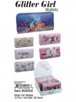 Glitter Girl Wallets Wholesale