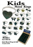 Wholesale Kids Mood Rings
