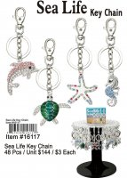 Wholesale Sea Life Key Chain