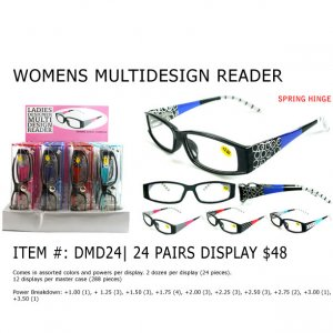 Women's Multi Design Readers