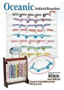 Wholesale Oceanic Anklets and Bracelets
