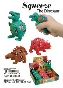 Squeeze The Dinosaur Wholesale