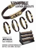 Vintage Leather Bracelets Wholesale
