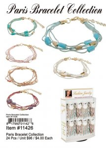 Paris Bracelet Collection Wholesale