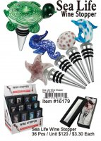 Wholesale Sea Life Wine Stopper