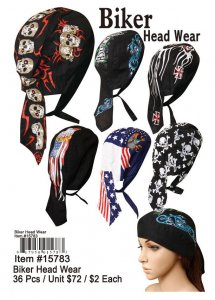 Wholesale Biker Head Wear