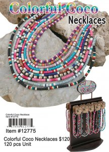 Wholesale Colorful Coco Necklace