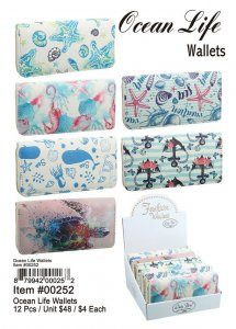 Ocean Life Wallets Wholesale
