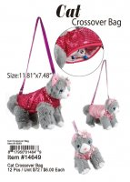Cat Crossover Bags Wholesale